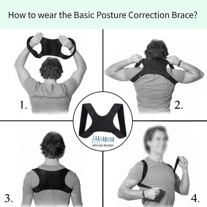 How To Wear The Basic Posture Correction Brace