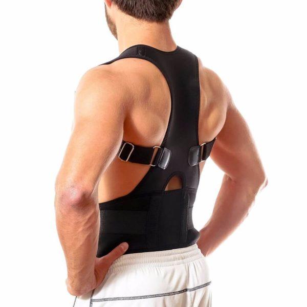 Full Back Brace For Me Side View