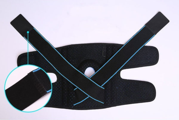 Flat position of the Knee Brace Support