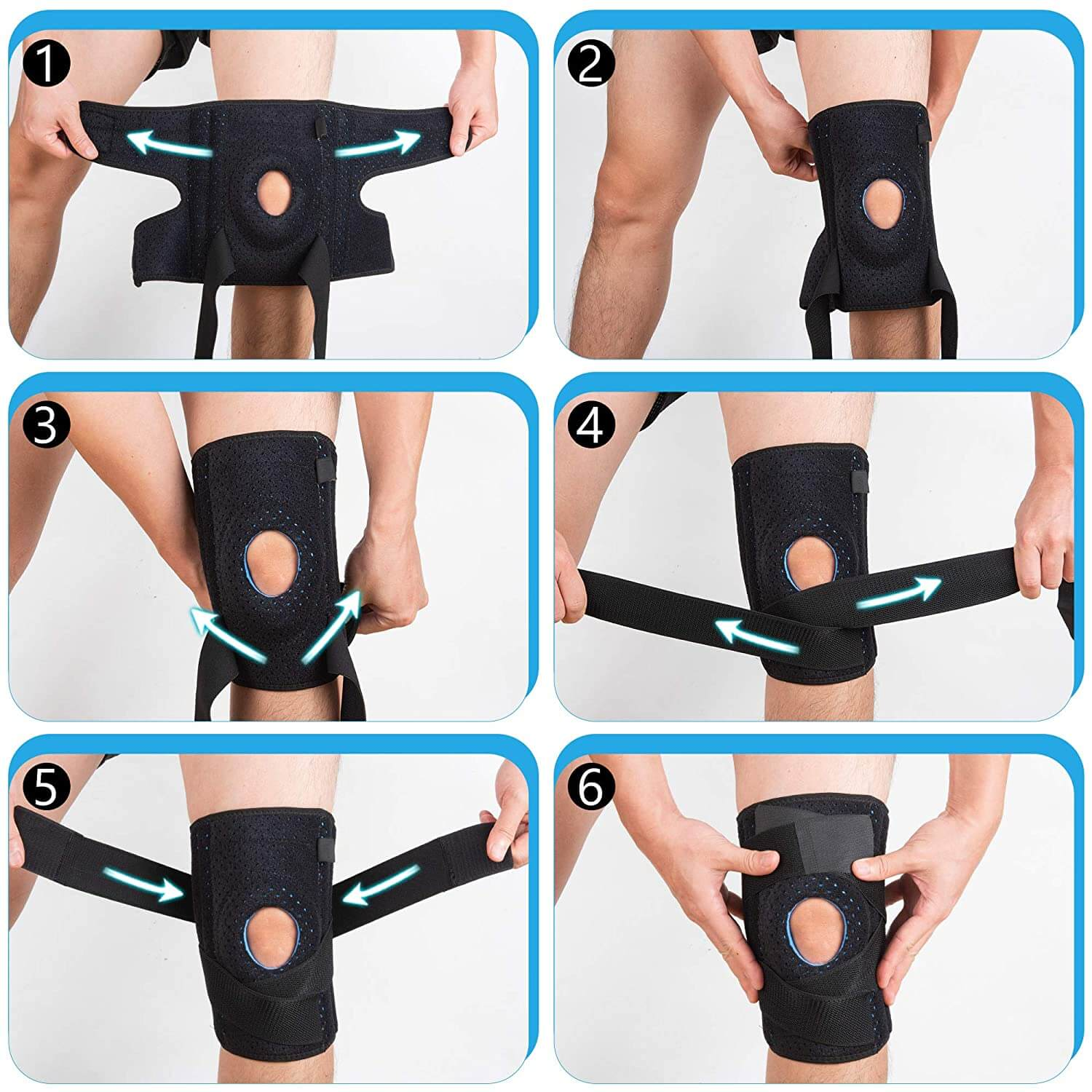 How to wear the Knee Brace Support