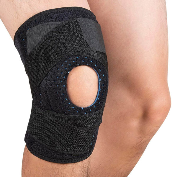 Wearing the Knee Brace Support