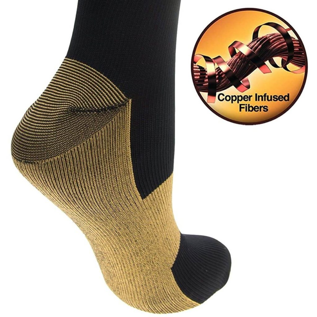 Copper Infused Sport Compression Socks