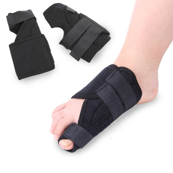 Corrective Bunion Splint on one foot