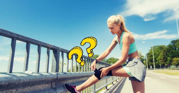 How does a knee brace work