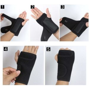 How to wear the Professional Wrist Brace