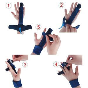 How to wear the g with the Trigger Finger Splint