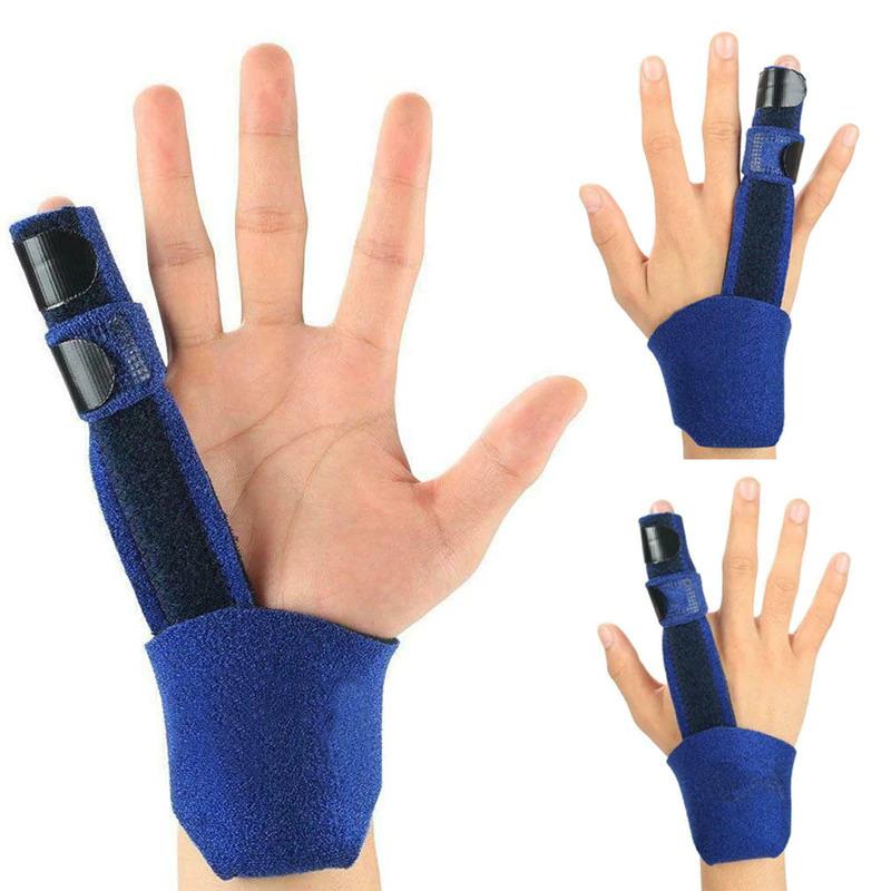 the Trigger FInger Splint on several fingers