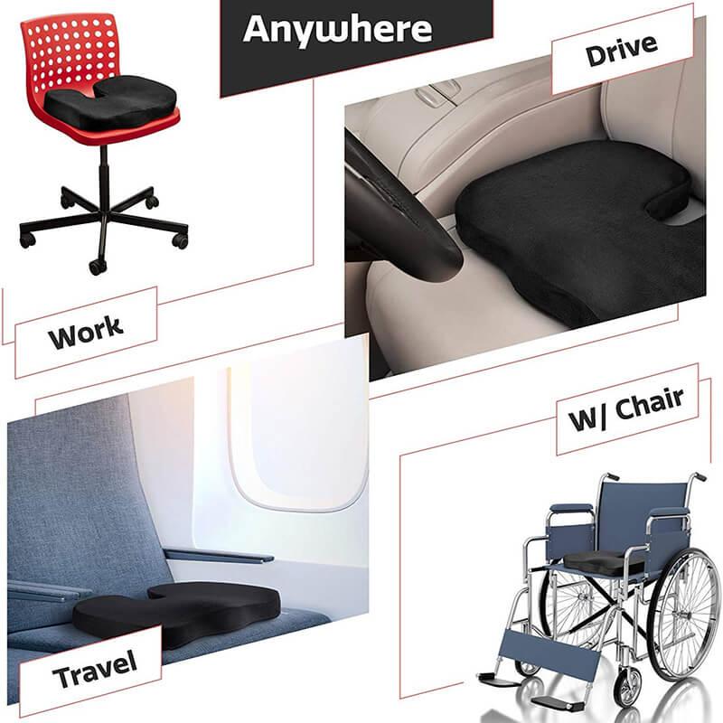 Gel Seat Cushion uses