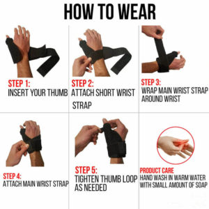 How to wear the Thumb Spica Splint