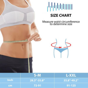 Size Chart of the Umbilical Hernia Belt