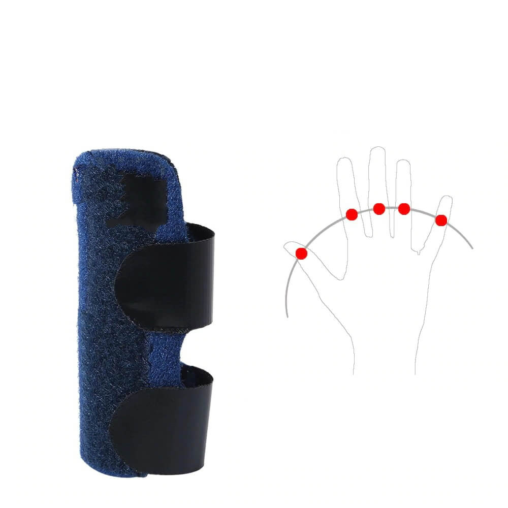 The Professional Finger Splint fits every finger