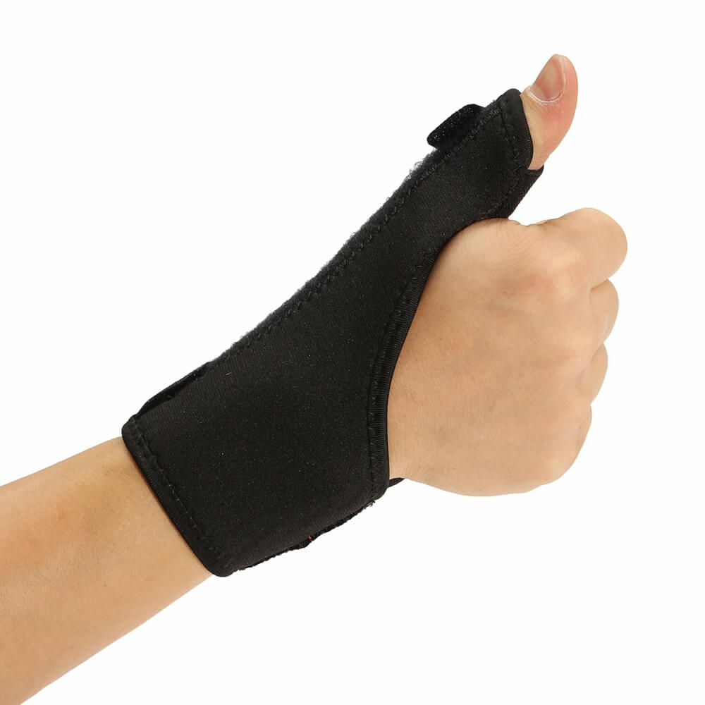 wearing the Thumb Spica Splint