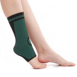 Ankle Compressin Sleeves side view