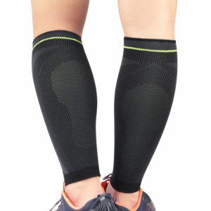 Compression Calf Sleeves Rear View