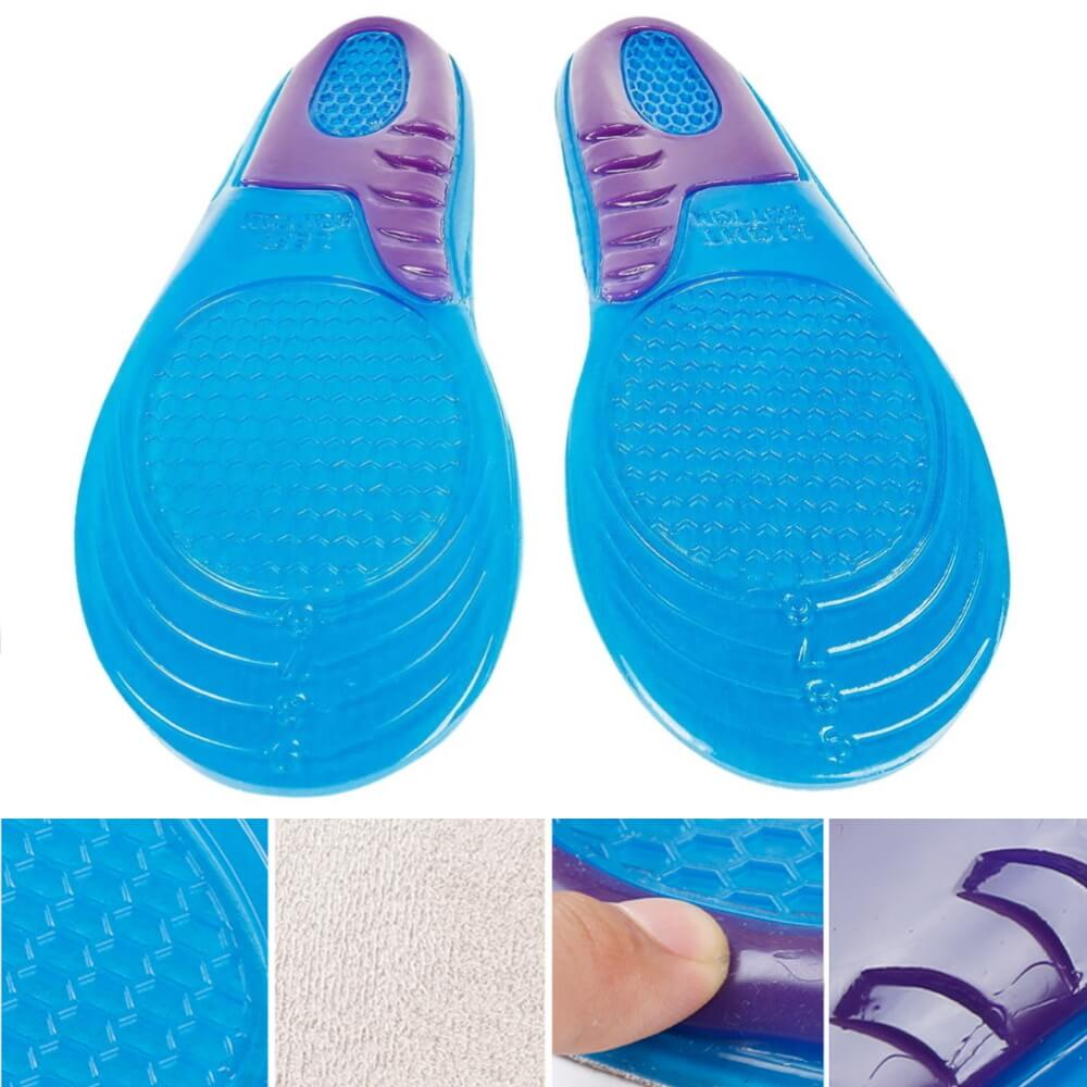 Professional Gel Insoles Closeups