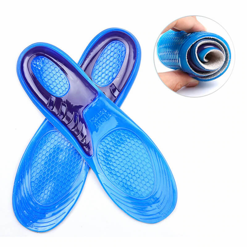 Professional Gel Insoles Crossed View