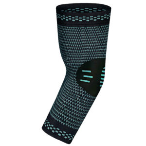 Turquoise Compression Elbow Sleeve