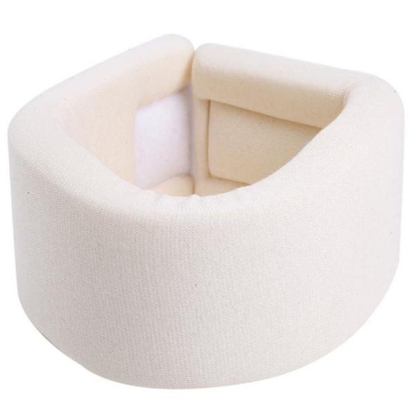 White Cervical Collar Close
