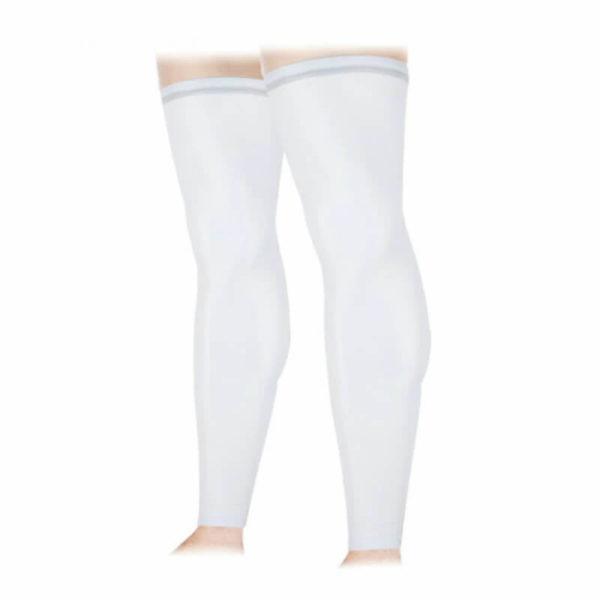 White Compression Leg Sleeves